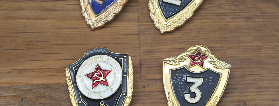Russian Badges