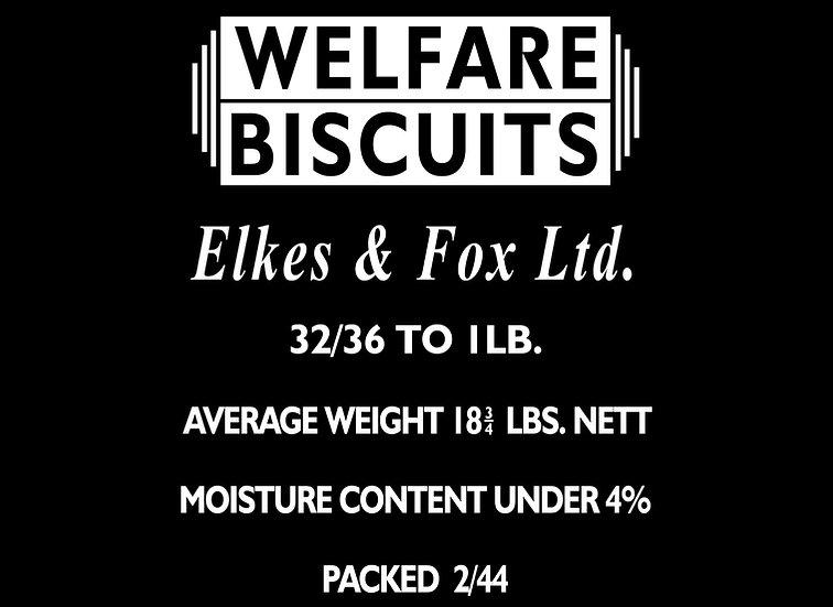 Welfare Biscuit Tin