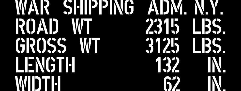 Shipping Data (Jeep)