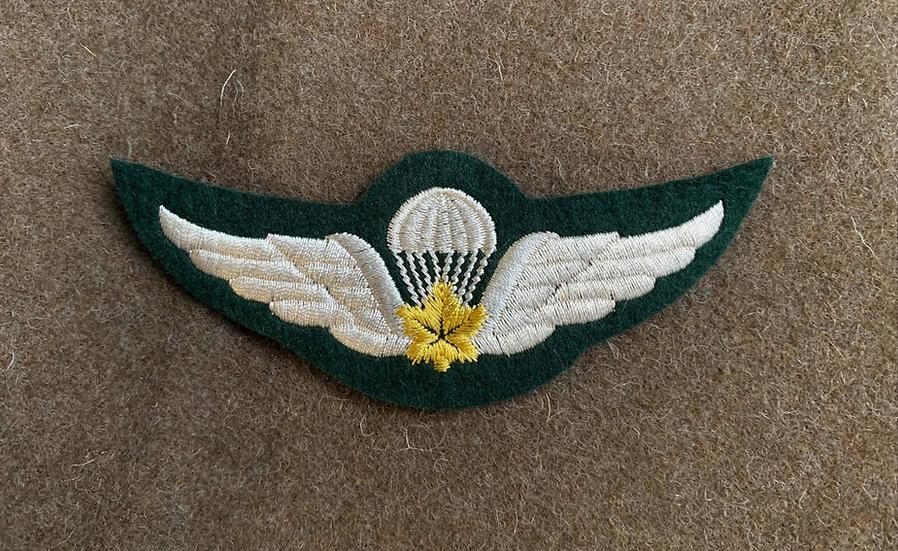Canadian Parachutist Wing.