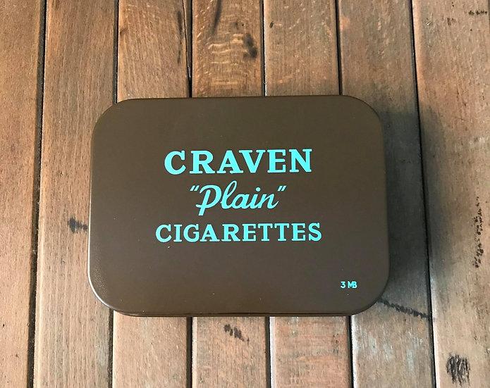 CRAVEN Plain Cigarettes Ration Tin