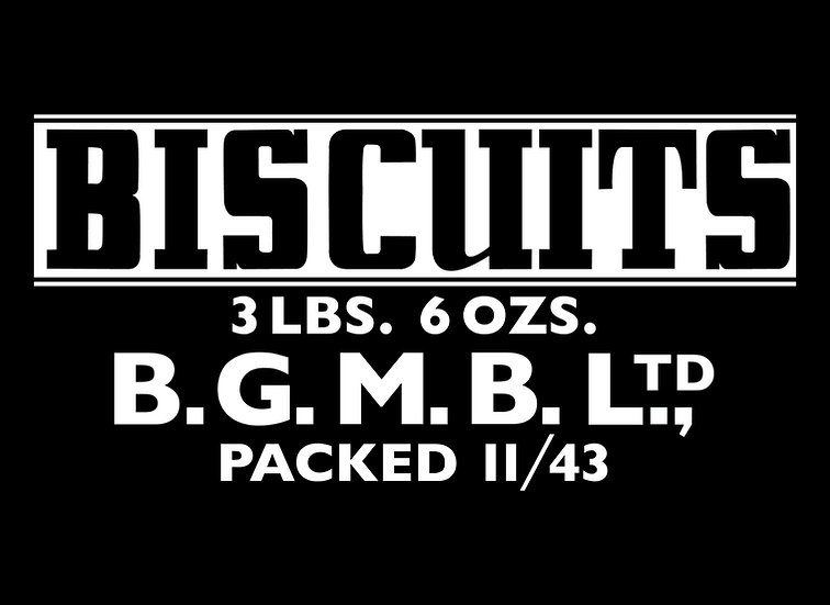 Biscuit Tin 3 lbs 6 ozs