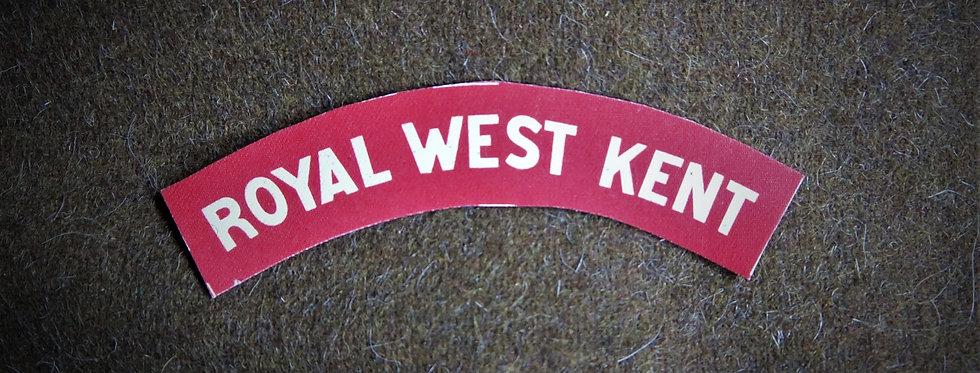 Royal West kent Regiment