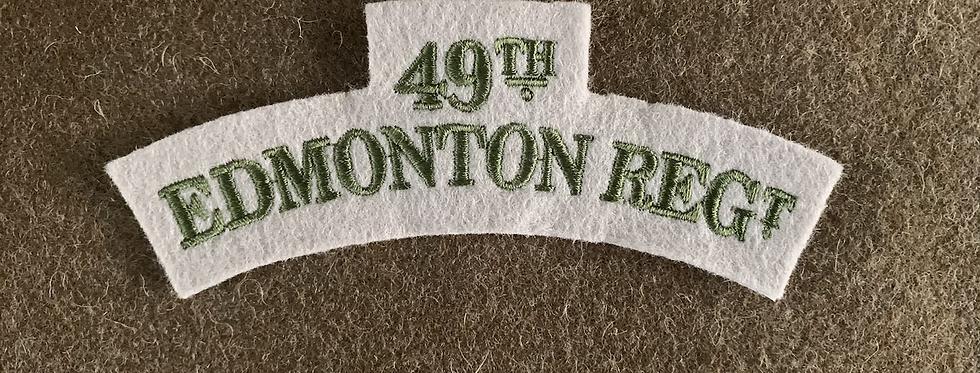 Canadian Edmonton Regiment (Felt)