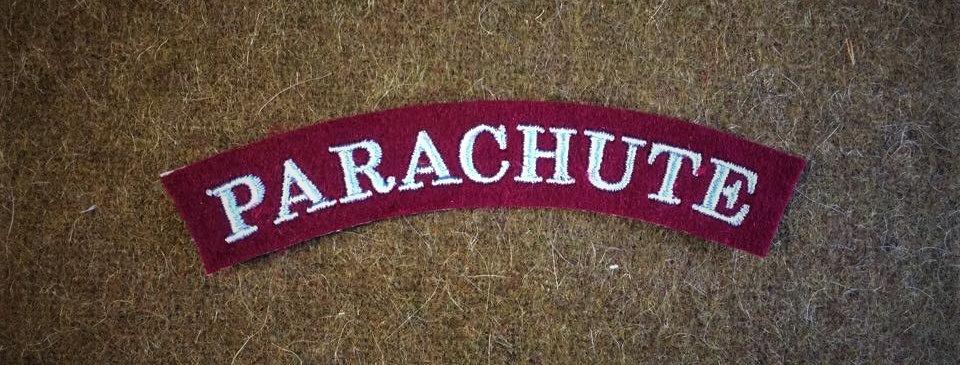 Parachute (Early Serif type)