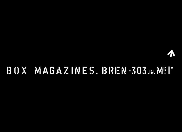 Bren Gun Ammunition Box (Single)