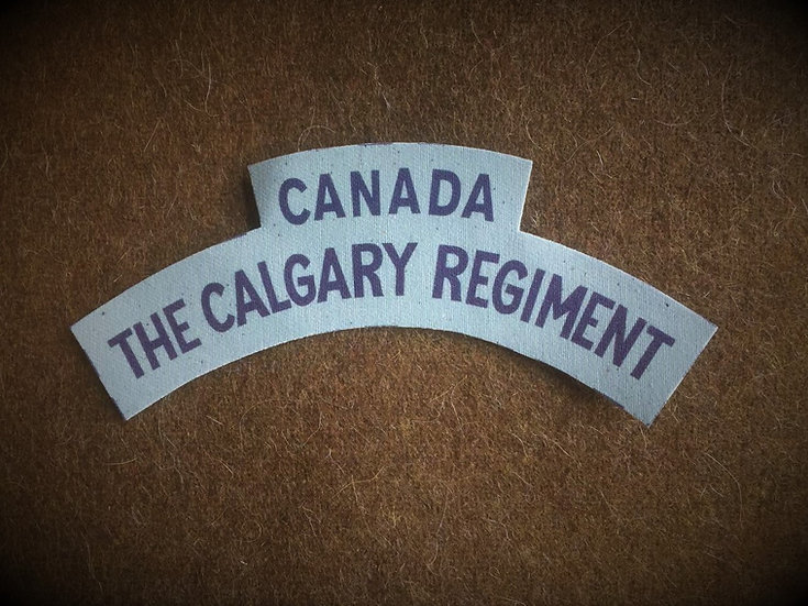 Canadian Calgary Regiment