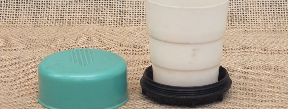 Vintage folding cup