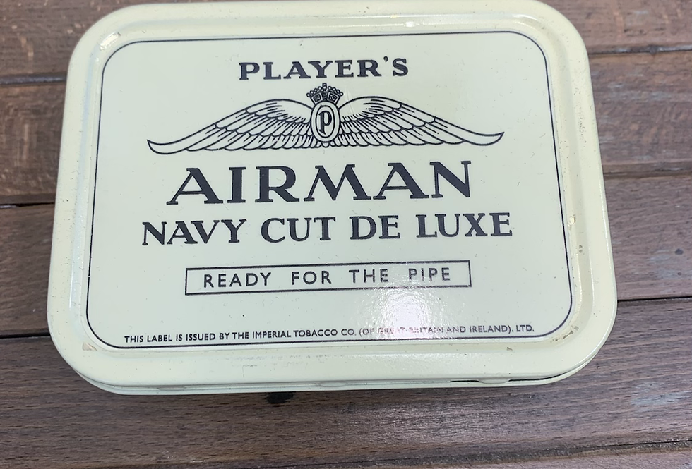 Player's AIRMAN Tobacco Tin Ex Display