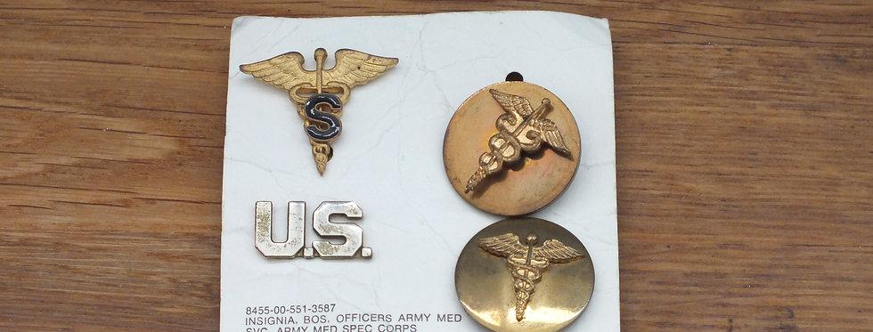 US Medical insignia