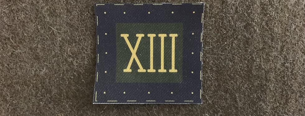 S.L.I 13th Regiment of Foot Arm badge
