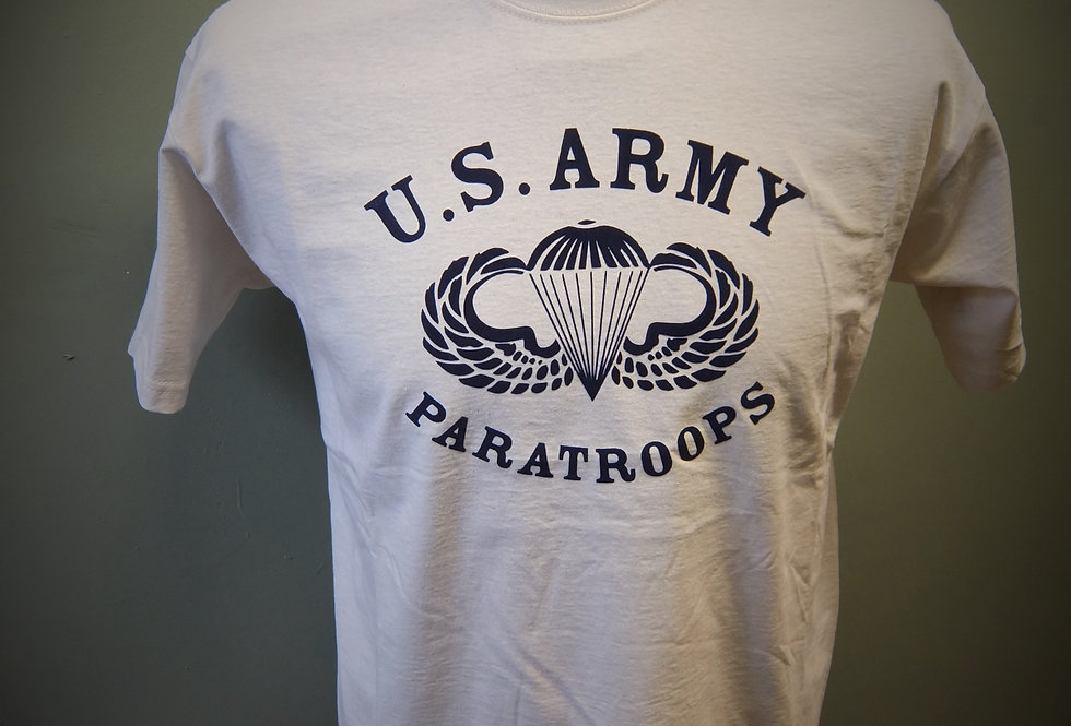 US Army Paratroops Airborne T Shirt