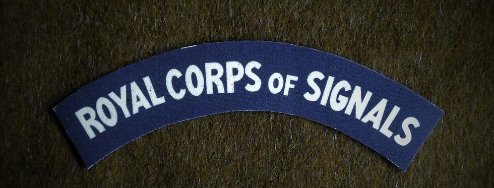 Royal Corps of Signals, Early Style