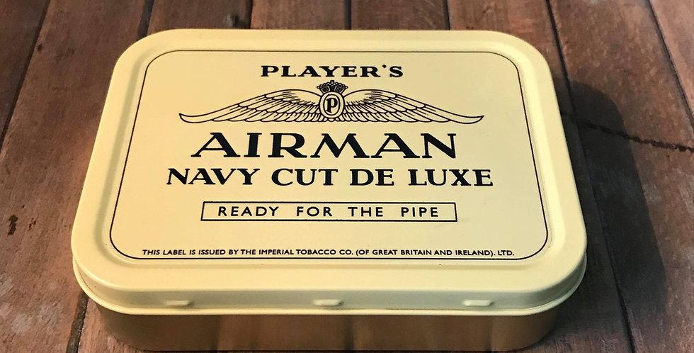 Player's AIRMAN Tobacco Tin