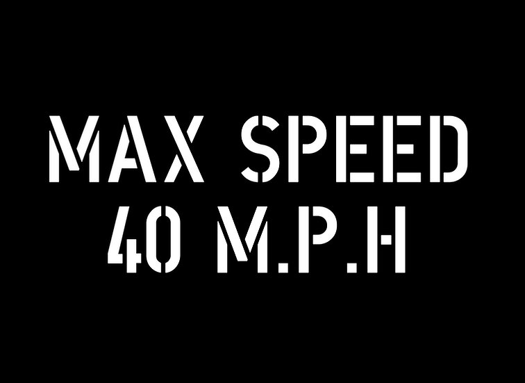 Max Speed (Jeep Canvas)