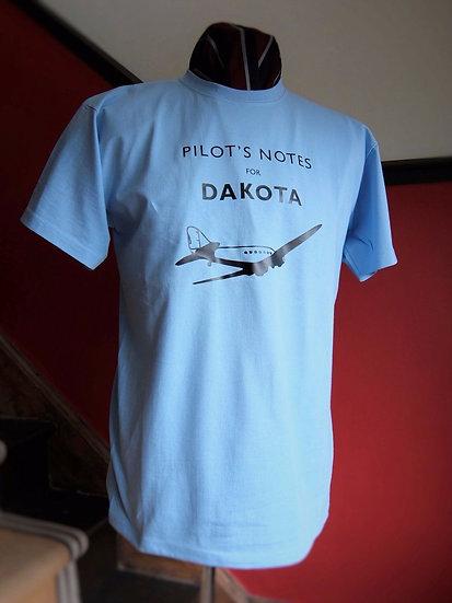 Dakota Pilots Notes T Shirt