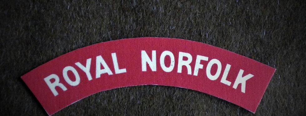 Royal Norfolk Regiment