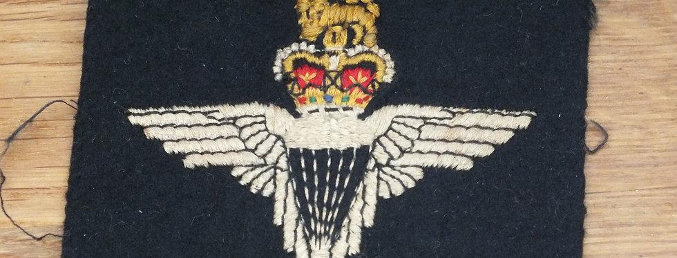 Parachute Regt blazer badge (ex WWII Veteran)