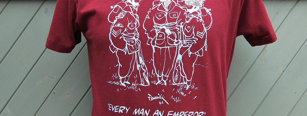 Every Man An Emperor Airborne T Shirt