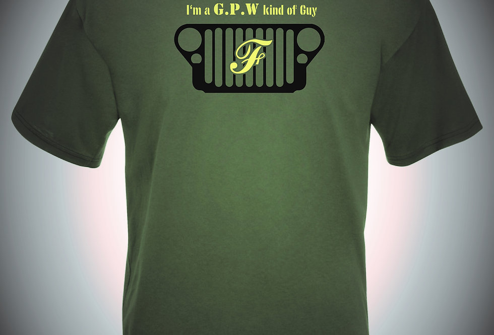 Ford GPW Jeep T Shirt