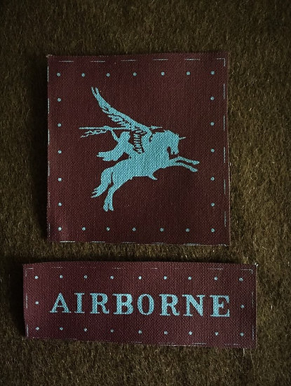 Airborne Pegasus Division and Tab Set