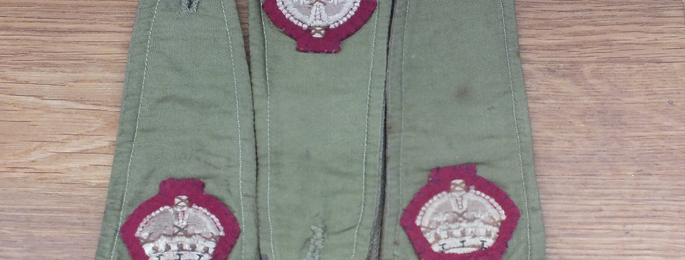 RAMC officers shirt epaulettes