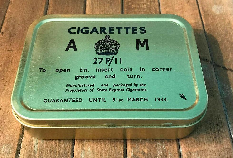 Cigarettes AM Ration Tin