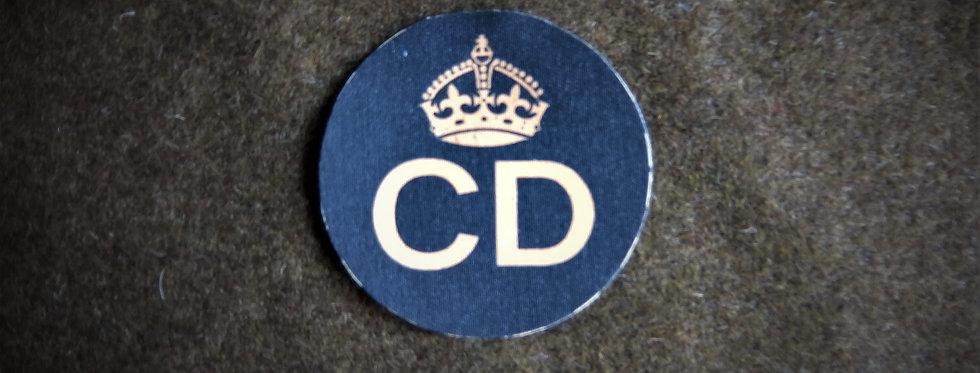 Civil Defence Corps pocket badge
