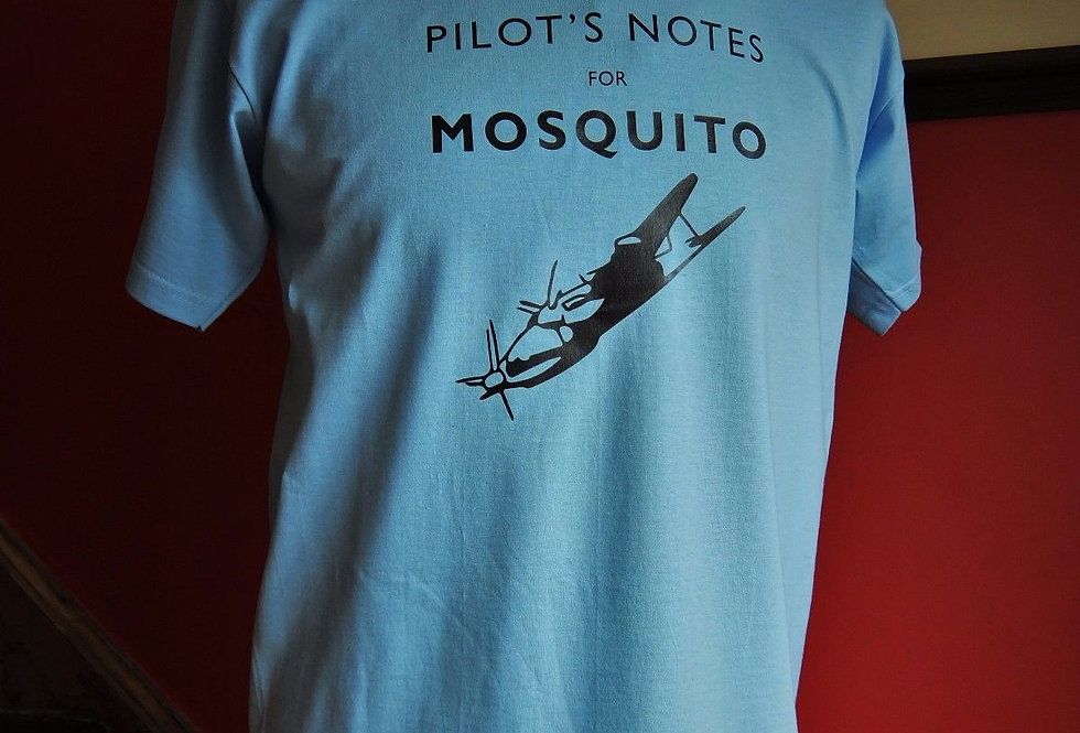 Mosquito Pilots Notes T Shirt