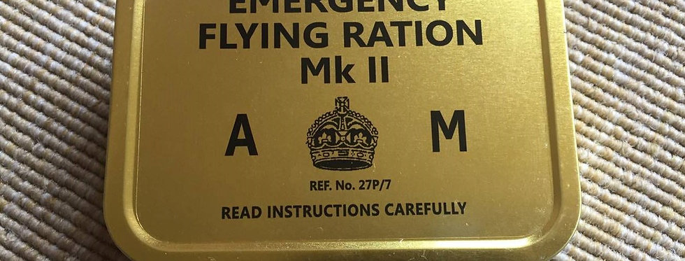 Emergency Flying Ration Mk II Tin (AM)