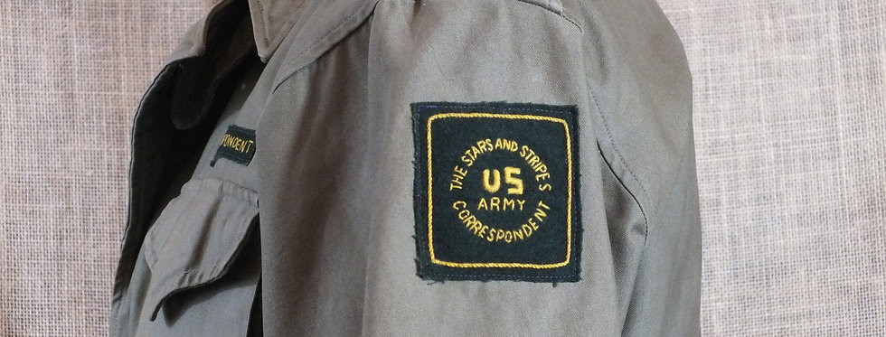 US M1943 Field Jacket War Correspondent