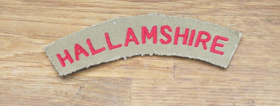 Hallamshire Shoulder title