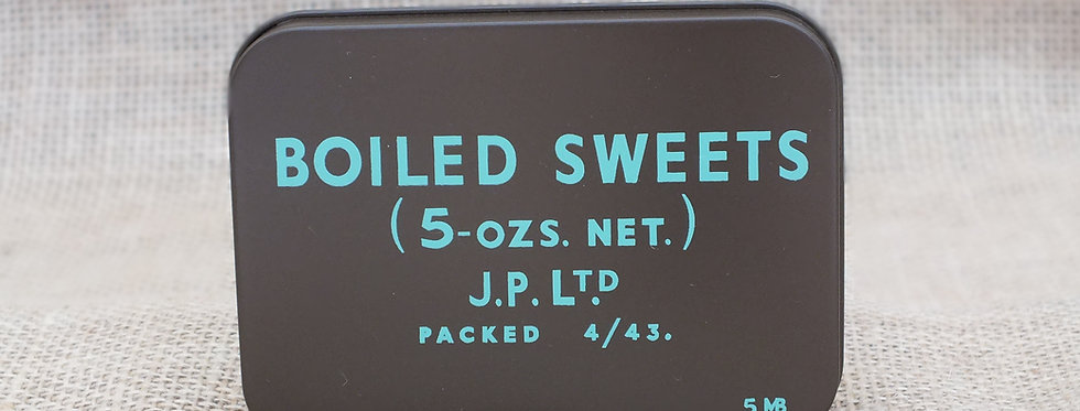 Boiled Sweets Ration Tin