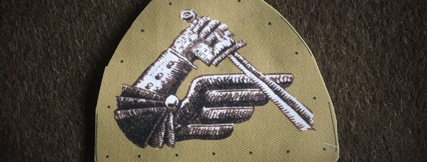 2nd Polish Armoured Division sleeve badge