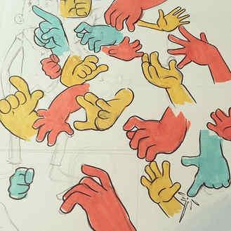 Hans _#myart #sketch #hands