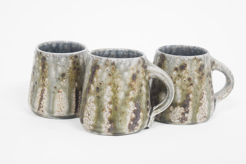 Espresso Cup | Watercolor Brown Floral
