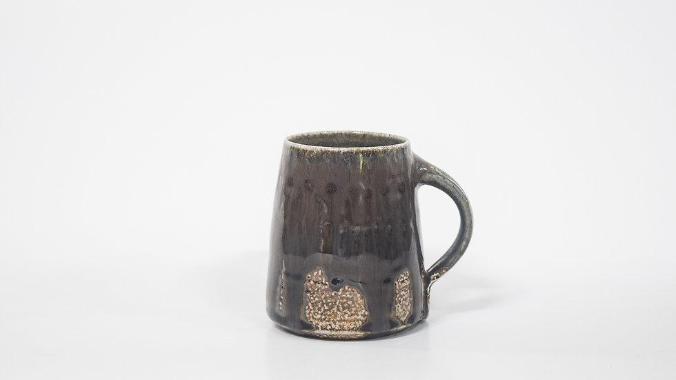 Wood Fired Salt Glazed Mug