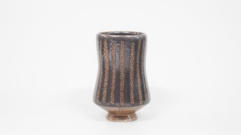 Wood Fired Salt Glazed Juice/Wine Tumbler