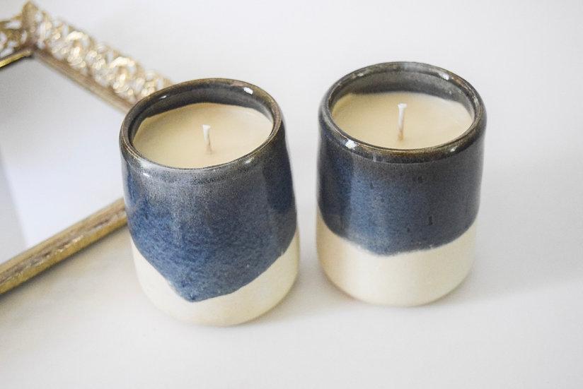 """The Scottish Highlands"" Large Candle   Essence of Winter Woods"