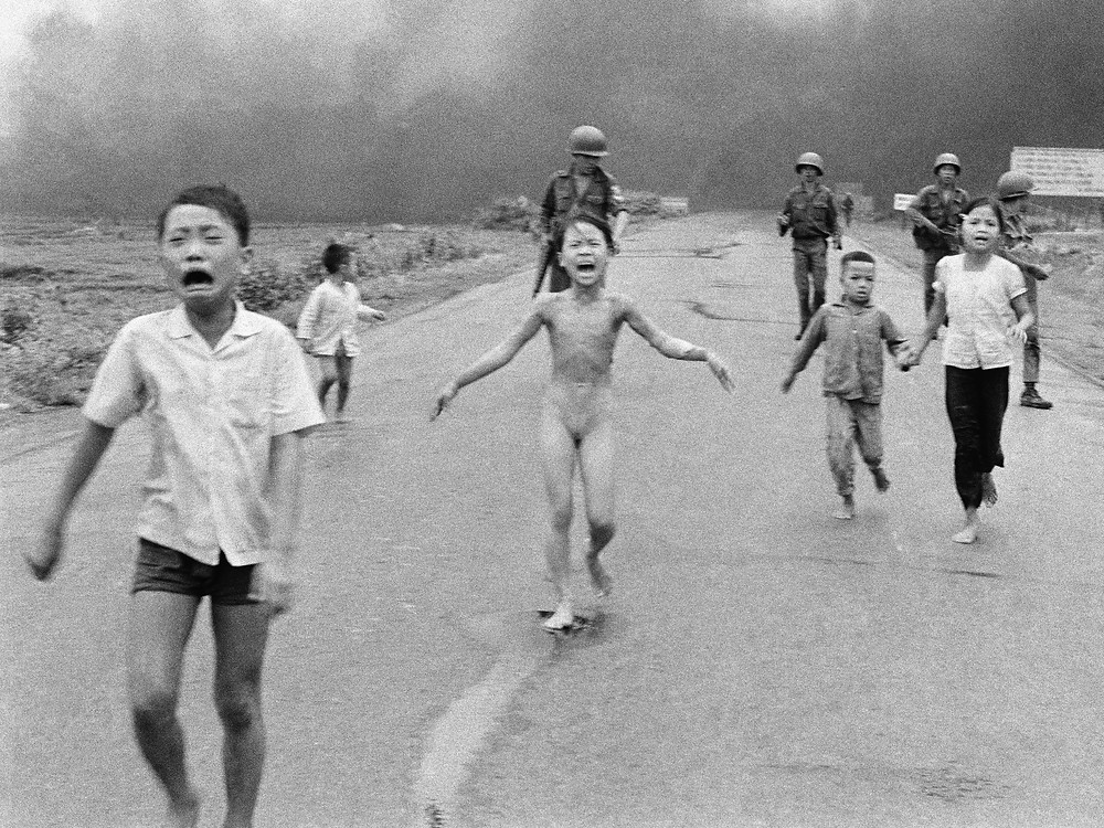 The Terror of War (also commonly known as The Napalm Girl): 1972 Pulitzer Prize winning photograph by Huỳnh Công Út | Photo Credit: Flicker