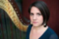 Christina Brier harpist Wilmington, North Carolina
