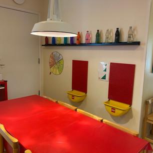 Lilla bordet i hallen