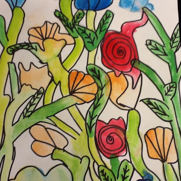 Skapande: Akvarellmålning