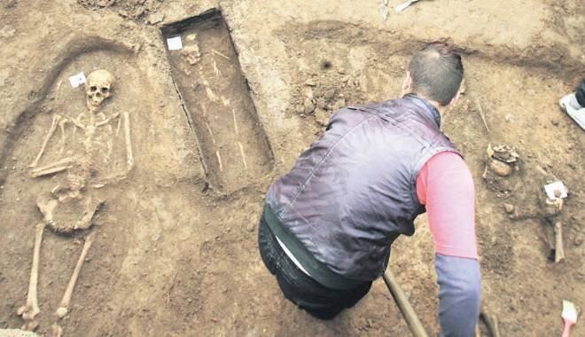 Uncovering mass graves of political prisoners from one of Romania's many forced labor camps
