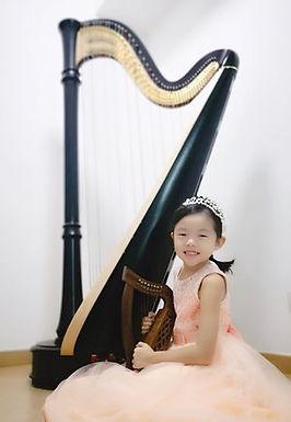 Mei Ying Isabelle Kwok (Harp), Hong Kong, Third Place