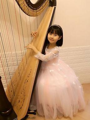 Tsz Yu Chim (Harp), Hong Kong, First Place