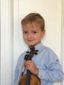 Aleksandr Kolesnikov (Violin), Russia, First Place