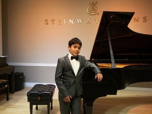 Eldar Ibrahimov (Piano), Canada, First Place