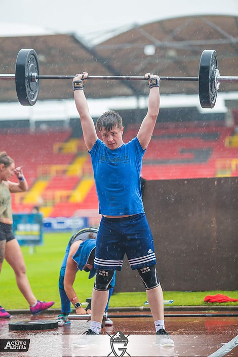 zack - crossfit all out newton aycliffe.