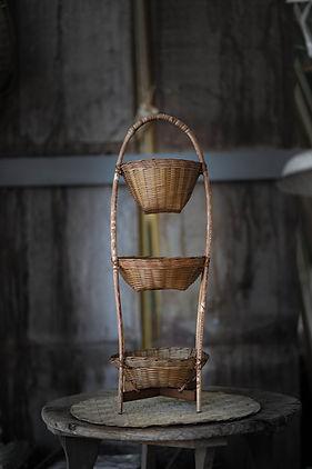 ชั้นวางของไม้ไ่ผ่, shelve from bamboo